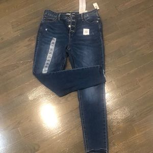 Old Navy super skinny high rise Rockstar jeans